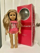 """AMERICAN GIRL ISABELLE 18"""" DOLL w/ CLOTHES & ORIGINAL BOX 2014 GIRL OF THE YEAR!"""