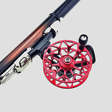 Small Right Hand Fly Fishing Front Reel Sea Raft Rock Fishing Rod Metal Wheel