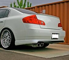 VIP HIGH KICK TRUNK LIP SPOILER 90-02 FOR P10 P11 INFINITI G20 PRIMERA G20T