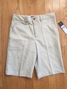 POLO Ralph Lauren Boys Tan Medium(10 -12) Active Golf Short 100% Cotton NWT