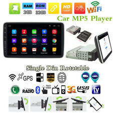 "1Din Android 8.1 9"" HD Quad-Core 2G+32G Coche Radio Estéreo reproductor de MP5 GPS BT Navs"