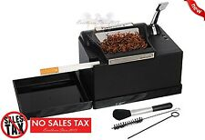 POWERMATIC 2 II + ELECTRIC CIGARETTE ROLLING MACHINE MAKE KING & 100 MM CIGS New