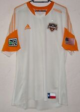 MLS Houston Dynamo 2013 Adidas Brian Ching Away Player Issue Soccer Jersey