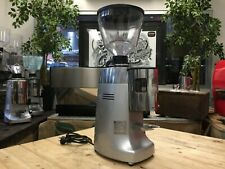 MAZZER KONY AUTOMATIC SILVER ESPRESSO COFFEE GRINDER CAFE RESTAURANT LATTE BEANS