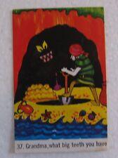 1974 Sunicrust Crazy Crew Bread Card Number 37 Pirate Cards RARE Near Mint