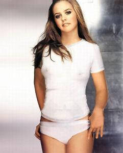 Alicia Silverstone Sexy Celebrity Rare Exclusive 8 x 10 Photo 2000