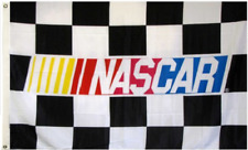 NEW NASCAR Checkered Flag Large 3'X5' NASCAR FREE SHIPPING!!!