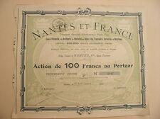 Comp. NANTES  ET  FRANCE