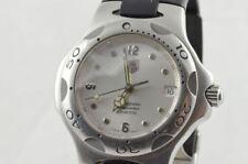 Tag Heuer Kirium señores reloj 39mm acero/acero Automatik cronómetro wl5111-0
