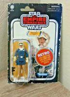 "Star Wars Retro Collection Han Solo Hoth 3.75"" Figure The Empire Strikes Back"