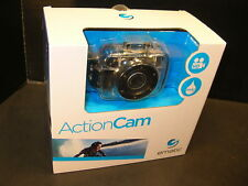 Ematic Action Cam IPX8 - NIB Includes Camera, Case, Mounts, strap, USB cable