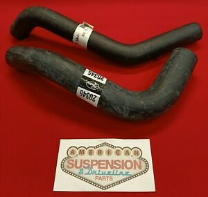 Chev 1959 - 1965 with Small Block V8 Radiator Hoses Upper and Lower (set)