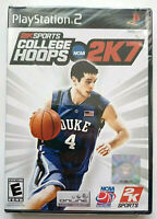 College Hoops 2K7 (PlayStation 2, PS2 2006) NEW SEALED