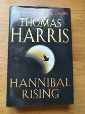 Hannibal Rising by Thomas Harris Hardback Book, 2006