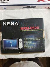 "nesa nrm 6520 6.5"" headrest module, nib"