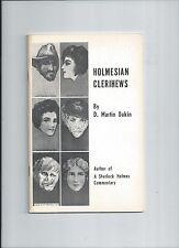 holmesian clerihews-sherlock holmes-d martin dakin 1975