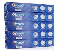 5 Pack, Crest 3D White Advanced Whitening Fluoride Anticavity Toothpaste 6oz ea