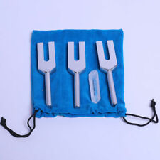 Angel Tuning Forks for Healing & Crystal + Mallet +pouch Sound Healing