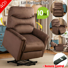 Elderly Lift Recliner Chair Modern Armchair Padded Seat Lounge Sofa Living Room
