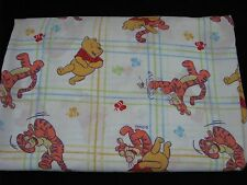 Disney Winnie the pooh Twin Flat Sheet Fabric Material Crafts Quilt Backing