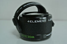 AICO 2 in 1 Quick change TELE/WIDE Fisheye Video Conversion Lens Made in Japan