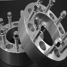 2pc Chevy 1988-10 C3500 Wheel Spacer Adapter 2.50 Inch With Lug Nuts # 8650G1415