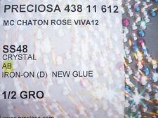 72  STRASS TERMOADESIVI PRECIOSA  Crystallo Aurora Boreale MM 11,5 (SS48)