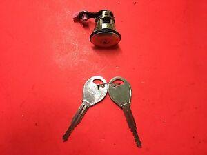 2000-2004 NISSAN XTERRA DRIVER FL DOOR LOCK CYLINDER W/ 2 KEYS USED OEM!