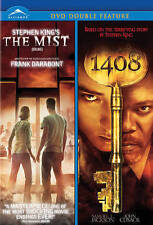 NEW DVD // THE MIST + 1408 - STEPHEN KING - LAURENCE FISHBURNE, THOMAS JANE