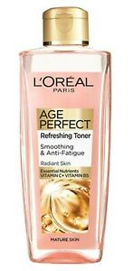 L'Oreal Paris | Age Perfect | REFRESHING TONER | Smoothing & Anti-Fatigue 200ml