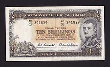 "1960-61 ND COMMONWEALTH OF AUSTRALIA ""TEN SHILLINGS"""