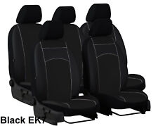 KIA CARENS 2013 PRESENT ECO LEATHER TAILORED SEAT COVERS MADE TO MEASURE FOR CAR