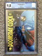 CGC 9.8 Doomsday Clock 1 - Watchmen Variant Superman Cover!