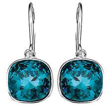 Crystal Cushion Drop/Dangle Costume Earrings