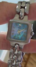 Vintage Ladies Baby Blue Faced SEIKO SQ50 Watch