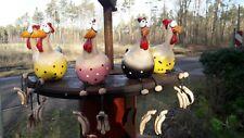 Geschenk,Deko,Hühner, Gartendeko, Gartenstecker, Keramikhuhn, Figur