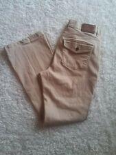 LRL RALPH LAUREN Classic Boot Cut Khaki Tan Beige Women's Size 8 Jeans 30x31
