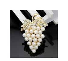 Künstliche Modeschmuckstücke aus Edelstahl mit Strass-Perlen