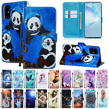 For Samsung Galaxy S20 Ultra S20Plus A71 A51 Flip Leather Case Wallet Card Cover