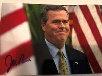Jeb Bush  Signed 4x6 Photo Presidential Governor  Auto President Rare