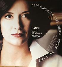 CD PROMO EUROVISION GREECE GRECIA 1997 MARIANNA ZORBA HOREPSE