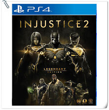 LEGENDARY EDITION PS4 Injustice 2 SONY Warner Home Video Fighting Games