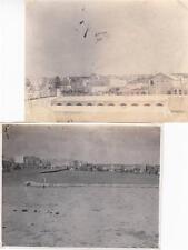 A7076) LIBIA, TRIPOLI, OTTOBRE 1911, LOTTO DI DUE FOTOGRAFIE DI TRIPOLI.