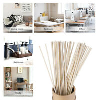 50Pcs Rattan Reed Replacement Refill Stick Fragrance Oil Diffuser Home Decor Set