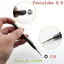 Metal Professional Kit Pentalobe 5 point Star 0.8 Screwdriver For iPhone 7 8 6S