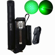 50 Miles Laser Pointers Green 1mW 532NM Lazer Beam Burn +18650 Battery Charger