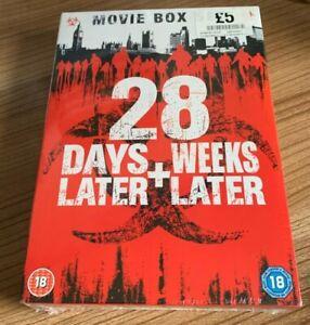 28 Days Later/28 Weeks Later DVD (2012, Box Set) NEW/SEALED Rose Byrne Cert 18