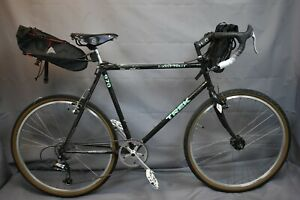 1990 Trek Single Track 970 Touring Road Bike 56cm Medium Chromoly Steel Charity!