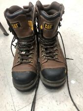 """Caterpillar Boots CAT Men's Hauler 6"""" Waterproof Composite Toe WorkBoots"""