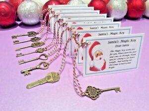 Medium Santa's Magic Key Christmas Eve Box Christmas Filler Tradition No Chimney
